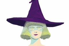witch-bust