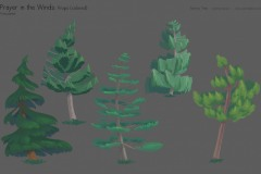 Prayer-props-colored-trees